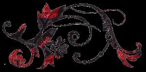 Decorative swirl graphic